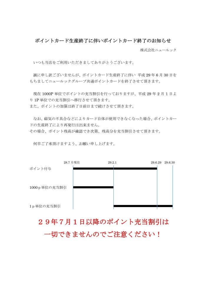 ポイントカード生産終了_01